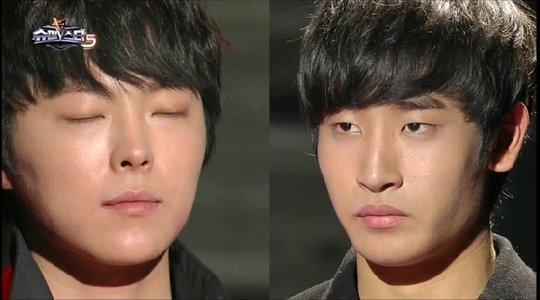 (왼쪽부터)박시환, 박재정 / 사진=Mnet \'슈퍼스타K5\' 방송화면