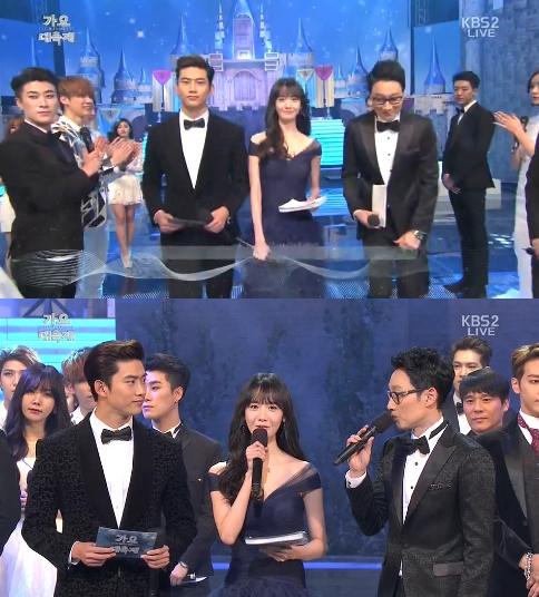 Taecyeon, Yoona, Lee Hwi Jae as MCs