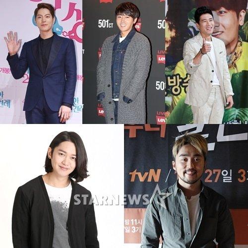 (위부터) 홍종현, 손호준, 장수원, 강균성, 유병재 /사진=스타뉴스