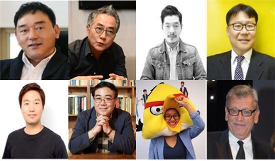 참가예정인 연사들 /사진=칸 라이언즈 제공
