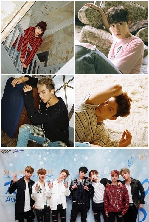 위너(위)와 아이콘 / 사진=스타뉴스 및 YG엔터테인먼트