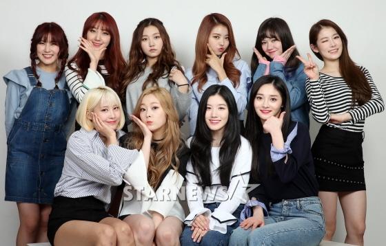 걸그룹 프리스틴(예하나, 로아, 성연, 나영, 카일라, 레나, 결경, 시연, 은아, 유하, 왼쪽 위부터 시계방향) /사진=임성균 기자