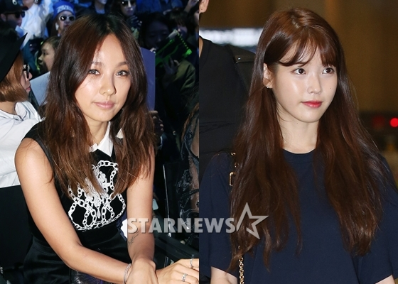 이효리(왼쪽), 아이유 /사진=스타뉴스