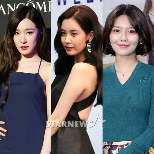 (왼쪽부터) 티파니, 서현, 수영 /사진=스타뉴스