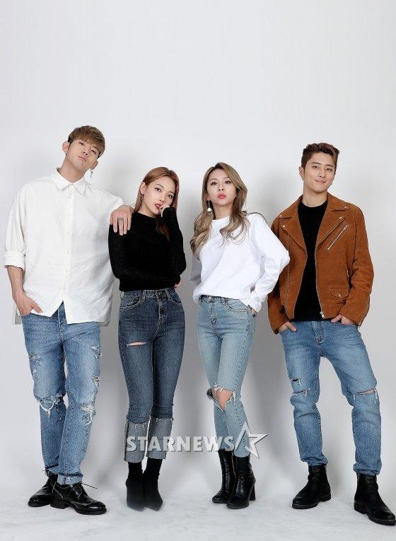 KARD(비엠, 전소민, 전지우, 제이셉) /사진=김창현 기자