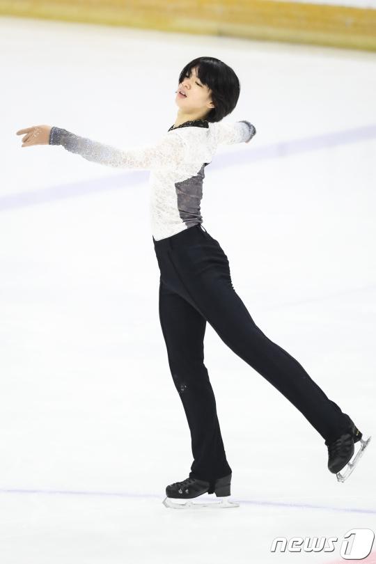 한국 남자피겨 대표로 평창 올림픽에 나서는 차준환. /사진=뉴스1