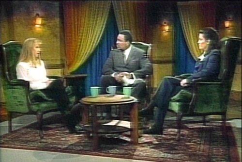 대담프로 당시 출연했던 토냐 하딩과 낸시 캘리건 /AFPBBNews=뉴스1