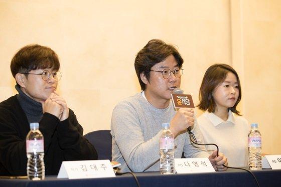 김대주, 나영석, 이진주(사진 왼쪽부터)/사진제공=CJ E&M