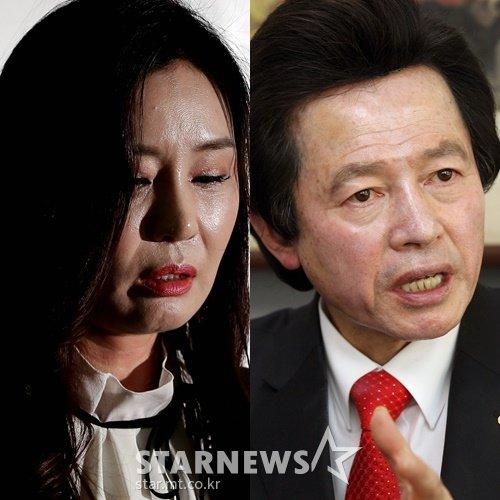 (왼쪽부터) 최사랑, 허경영 /사진=스타뉴스