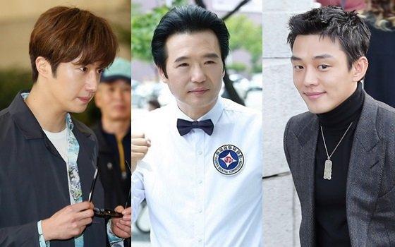 배우 정일우, 조성규, 유아인(사진 왼쪽부터)/사진=스타뉴스