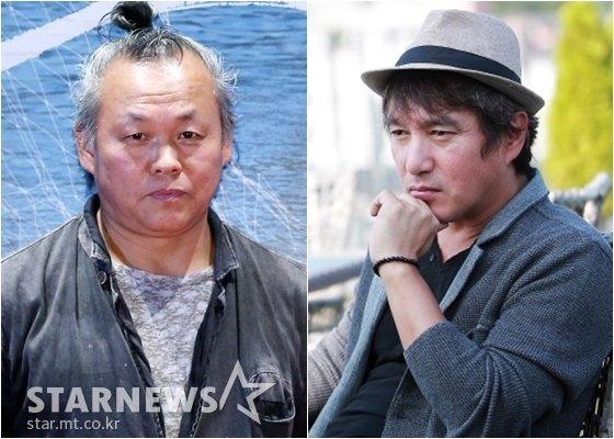 김기덕 감독과 조재현 / 사진=스타뉴스