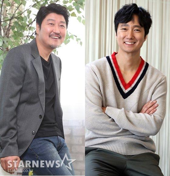 송강호,박해일/사진=머니투데이 스타뉴스