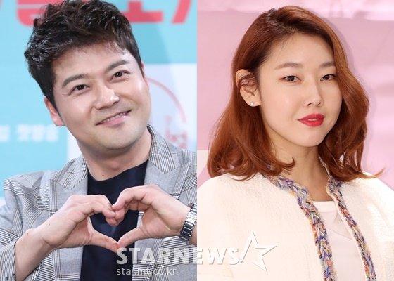 전현무(왼쪽)와 한혜진 /사진=스타뉴스