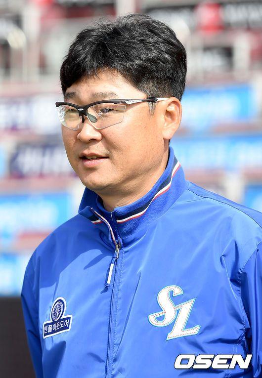 김한수 감독.