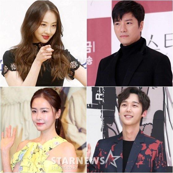 다솜(왼쪽 위부터 시계방향), 임태경, 윤종훈, 홍수현 /사진=스타뉴스