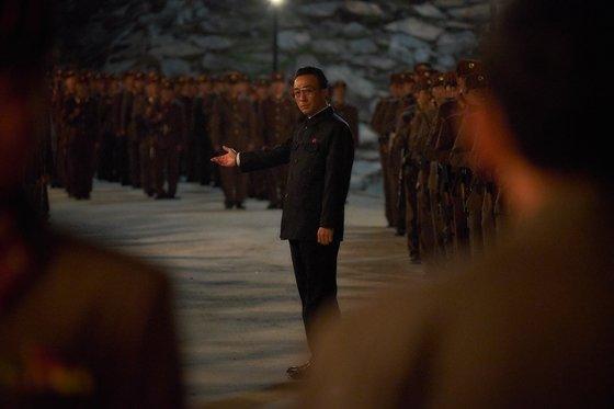 영화 \'공작\'에서 북한 실세 리명운 역을 맡은 이성민 / 사진=영화 \'공작\' 스틸컷