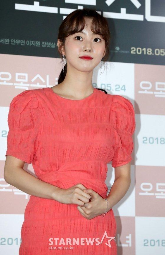 배우 박세완/사진=홍봉진 기자