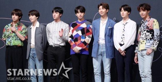방탄소년단(BTS) /사진=김휘선 기자