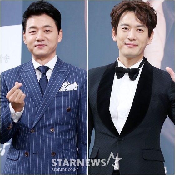 김승수(왼쪽)와 박정철 /사진=스타뉴스