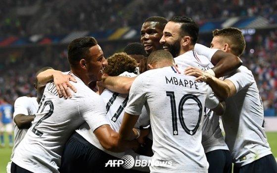 프랑스 대표팀./AFPBBNews=뉴스1
