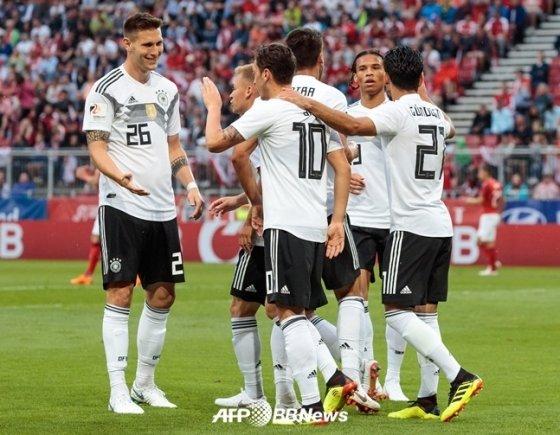 독일 대표팀./AFPBBNews=뉴스1
