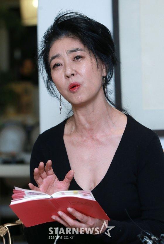 배우 김부선/사진=스타뉴스