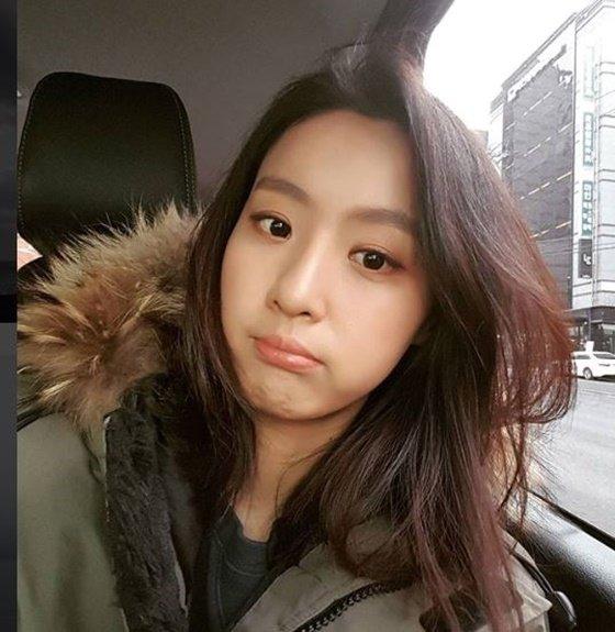 배우 김부선의 딸, 배우 이미소/사진=이미소 인스타그램