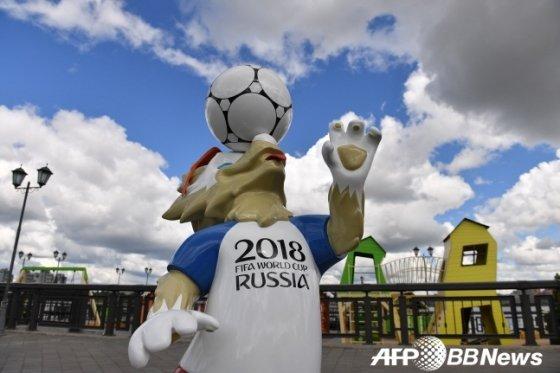 \'2018 러시아 월드컵\' 공식 마스코트 \'자비바카\'(Zabivaka) / 사진=AFPBBNews=뉴스1