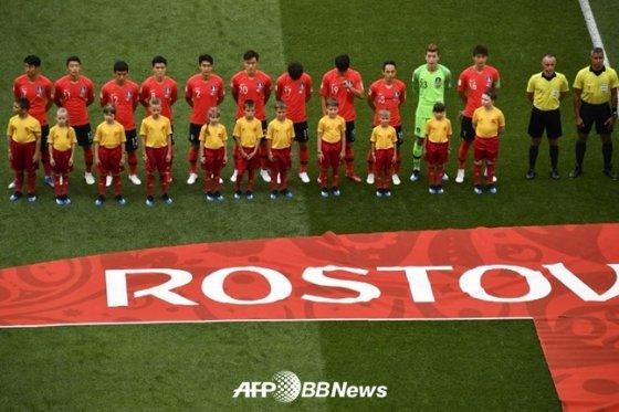 한국 축구 대표팀 /AFPBBNews=뉴스1