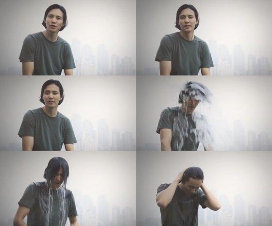 원빈 / 사진=유튜브 아이스버킷챌린지 영상 캡처