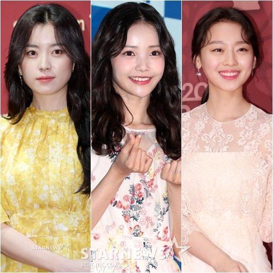 한효주(왼쪽부터), 하연수, 이수민 /사진=스타뉴스