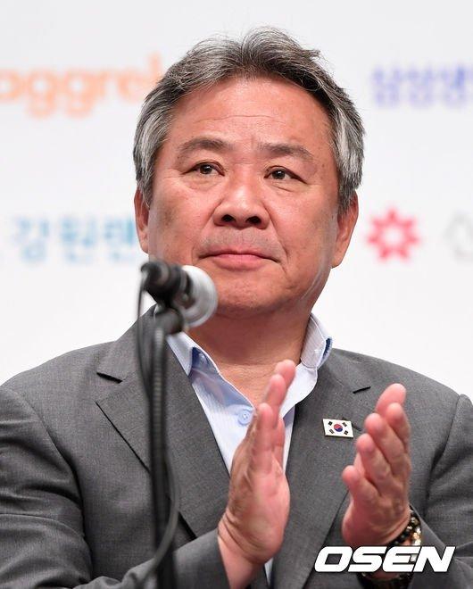 대한체육회 이기흥 회장.