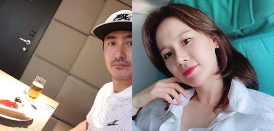 축구국가대표 출신 해설가 안정환, 이혜원 부부/사진=이혜원 인스타그램