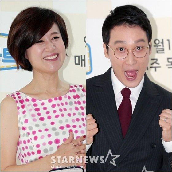박미선(왼쪽)과 이휘재 /사진=스타뉴스