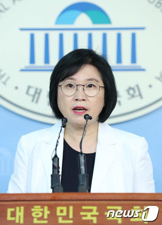 더불어민주당 김현 대변인이 이채익 자유한국당 의원의 발언에 대해 비판했다. /사진=뉴스1