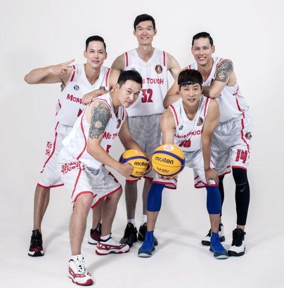 3대3 농구 붐을 위해 진행되는 \'대농여지도 프로젝트\'에 참가하는 레전드팀.