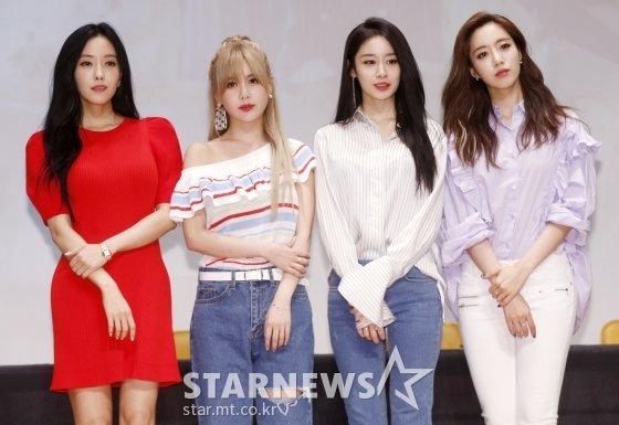 걸그룹 티아라(효민, 큐리, 지연, 은정)/사진=스타뉴스
