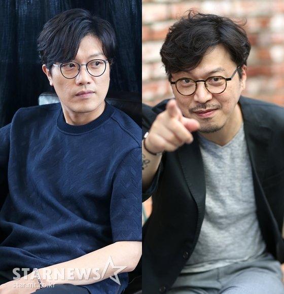 박희순(왼쪽)이 에로거장 봉만대 감독의 \'떼인 돈 받아드립니다\'에 출연한다/사진=머니투데이 스타뉴스