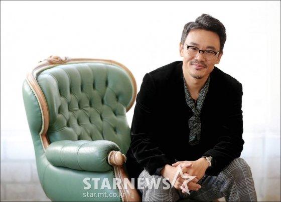 영화 \'배반의 장미\'의 김인권 / 사진=김창현 기자