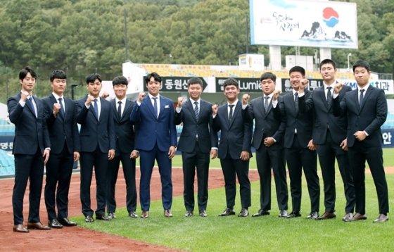 삼성 라이온즈가 2019년 신인들과 계약을 마쳤다. /사진=삼성 라이온즈 제공