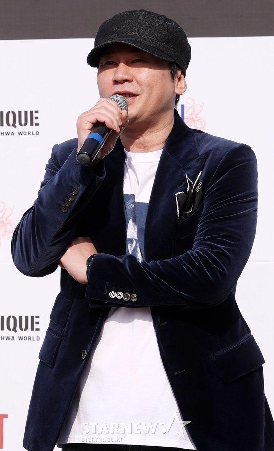 양현석 YG엔터테인먼트 대표 프로듀서 /사진=김휘선 기자