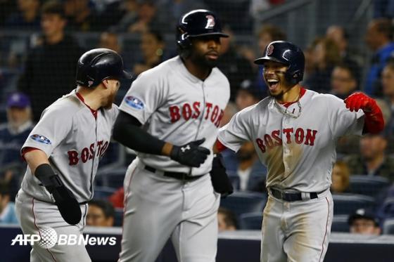 타격은 보스턴이 우위다. /AFPBBNews=뉴스1