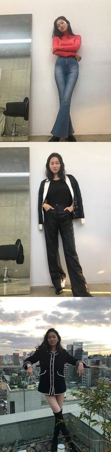 /사진=장윤주 인스타그램 캡처