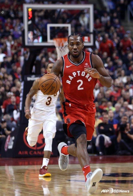 미국프로농구(NBA) 토론토 랩터스의 카와이 레너드. / 사진=AFPBBNews=뉴스1