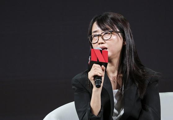 김은희 작가 / 사진=넷플릭스
