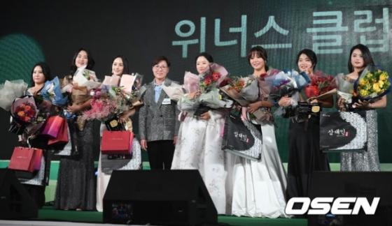김보아, 김아림, 박결, 박채윤, 인주연, 정슬기, 최혜진(왼쪽부터)