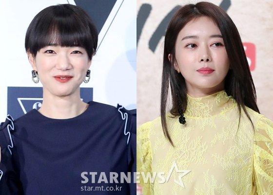 배우 손수현과 이수민/사진=스타뉴스