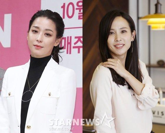 한고은, 조여정(사진 오른쪽)/사진=스타뉴스