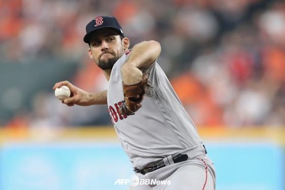보스턴과 4년 계약을 마친 네이선 이오발디. /AFPBBNews=뉴스1