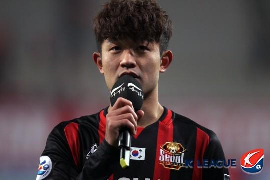 FC서울 이상호 /사진=한국프로축구연맹 제공